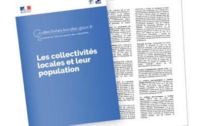 Les collectivités locales et leur population