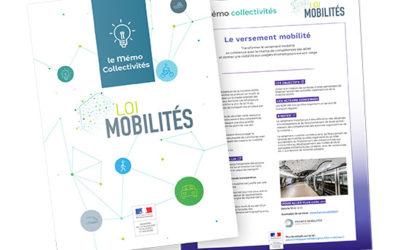 Mémo collectivités – Loi mobilités